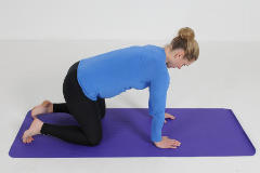 Pregnancy Pilates exercises for back pain