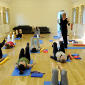 Joanna Helcke teaching Pilates classes