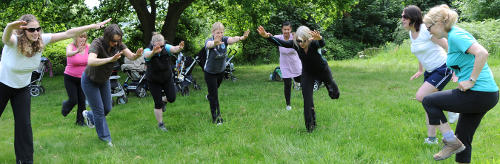 Buggy fitness in Leicestershire