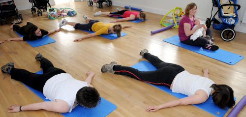 Post natal Pilates classes