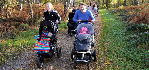 Buggy walking for fitness