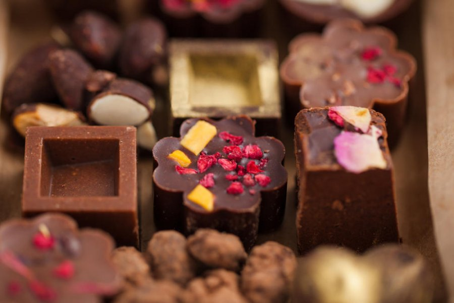 Natural chocolates image