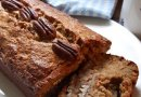 Banana, Pecan and buckwheat loaf