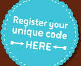 Register your unique code here